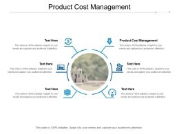 Product Cost Management Ppt Powerpoint Presentation Infographics Graphics Tutorials Cpb