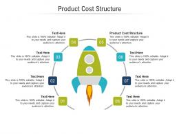 Product Cost Structure Ppt Powerpoint Presentation Show Display Cpb