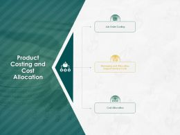 Product Costing And Cost Allocation Ppt Powerpoint Presentation Gallery
