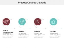 Product Costing Methods Ppt Powerpoint Presentation Summary Example File Cpb