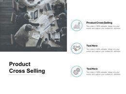 Product Cross Selling Ppt Powerpoint Presentation Slides Gridlines Cpb