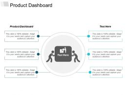 Product Dashboard Ppt Powerpoint Presentation Infographic Template Graphic Tips Cpb