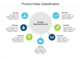 Product Data Classification Ppt Powerpoint Presentation Styles Brochure Cpb