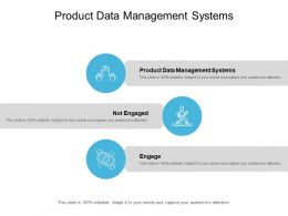 Product Data Management Systems Ppt Powerpoint Presentation Gallery Examples Cpb