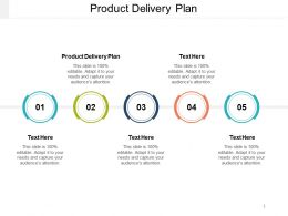 Product Delivery Plan Ppt Powerpoint Presentation Gallery Slide Portrait Cpb