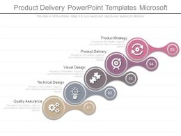 Product Delivery Powerpoint Templates Microsoft