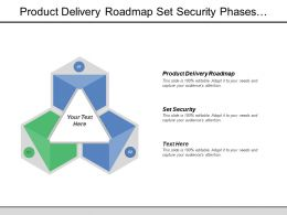 Product Delivery Roadmap Set Security Phases Gate Reviews