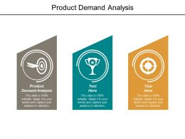 Product Demand Analysis Ppt Powerpoint Presentation File Topics Cpb