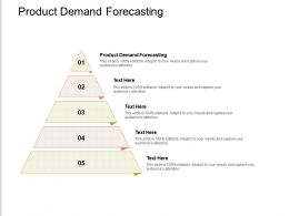 Product Demand Forecasting Ppt Powerpoint Presentation Inspiration Ideas Cpb