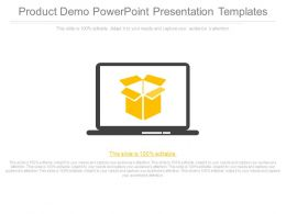 Product Demo Powerpoint Presentation Templates