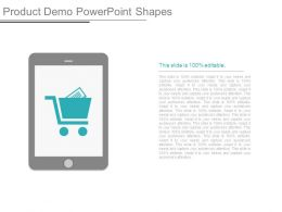 Product Demo Powerpoint Shapes