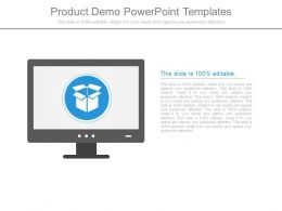 Product Demo Powerpoint Templates