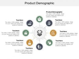 Product Demographic Ppt Powerpoint Presentation Layouts Brochure Cpb