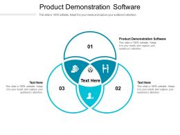 Product Demonstration Software Ppt Powerpoint Presentation Templates Cpb