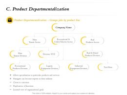 Product Departmentalization Division M749 Ppt Powerpoint Presentation Infographics Show