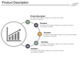 Product Description Ppt Powerpoint Presentation Ideas Example File Cpb