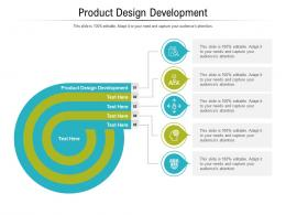 Product Design Development Ppt Powerpoint Presentation Show Picture Cpb