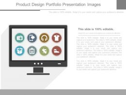Product Design Portfolio Presentation Images