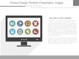 Product Design Portfolio Presentation Images