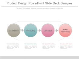 Product Design Powerpoint Slide Deck Samples