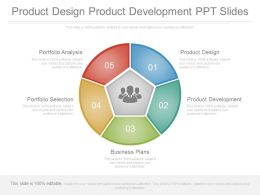Product Design Product Development Ppt Slides