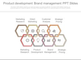 Product Development Brand Management Ppt Slides