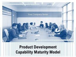 Product Development Capability Maturity Model Powerpoint Presentation Slides