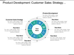 Product Development Customer Sales Strategy Operations Management Business Opportunities Cpb
