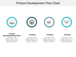 Product Development Flow Chart Ppt Powerpoint Presentation Summary Graphics Cpb
