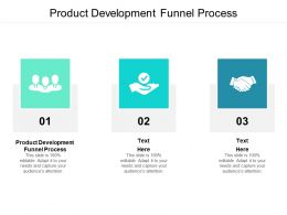 Product Development Funnel Process Ppt Powerpoint Presentation Ideas Slides Cpb