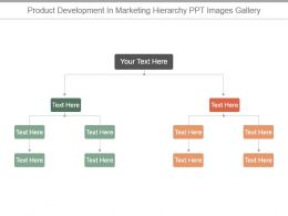 Product Development In Marketing Hierarchy Ppt Images Gallery