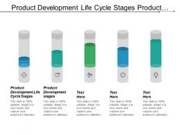 Product Development Life Cycle Stages Product Development Stages Cpb