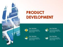 Product Development Powerpoint Graphics