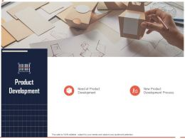 Product Development Ppt Powerpoint Presentation Styles Example Introduction