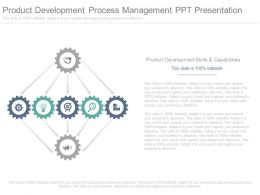 Product Development Process Management Ppt Presentation