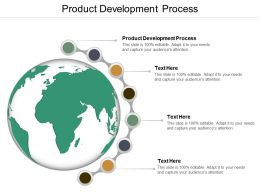 Product Development Process Ppt Powerpoint Presentation Model Demonstration Cpb