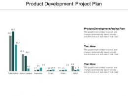 Product Development Project Plan Ppt Powerpoint Presentation Outline Brochure Cpb