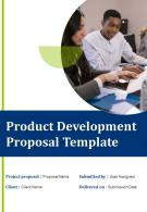 Product Development Proposal Example Document Report Doc PDF Ppt