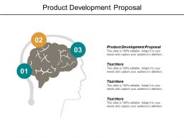 Product Development Proposal Ppt Powerpoint Presentation File Topics Cpb