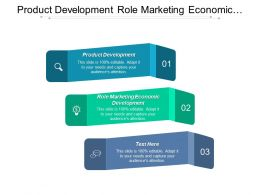 Product Development Role Marketing Economic Development Marketing Management Cpb