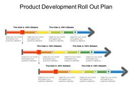 Product Development Roll Out Plan Sample Of Ppt