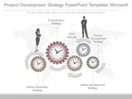 Product Development Strategy Powerpoint Templates Microsoft