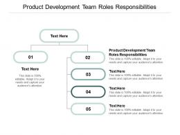 Product Development Team Roles Responsibilities Ppt Powerpoint Presentation File Demonstration Cpb