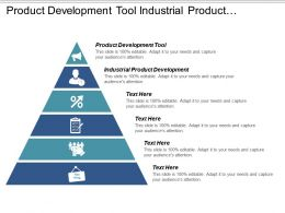 product_development_tool_industrial_product_development_senses_marketing_cpb_Slide01