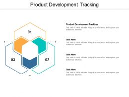 Product Development Tracking Ppt Powerpoint Presentation Outline Example Introduction Cpb