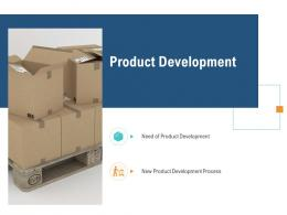 Product Development Unique Selling Proposition Of Product Ppt Template