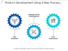 Product Development Using 3 Step Process Map