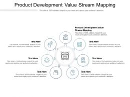Product Development Value Stream Mapping Ppt Powerpoint Presentation Portfolio Infographics Cpb
