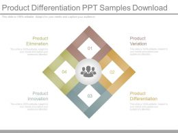 Product Differentiation Ppt Samples Download