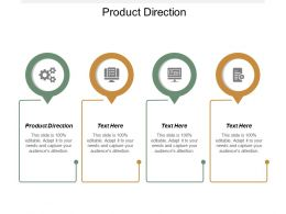 Product Direction Ppt Powerpoint Presentation Icon Themes Cpb